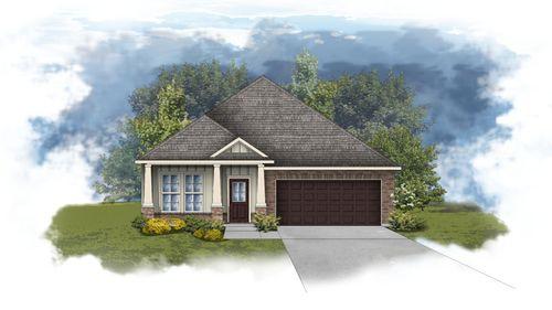 Oldtown II B - Front Elevation - DSLD Homes