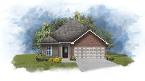 Wendell III H - Front Elevation - DSLD Homes