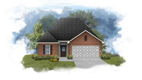 Carlton III G - Front Elevation - DSLD Homes