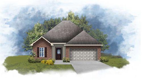 Wendell III G - Front Elevation - DSLD Homes