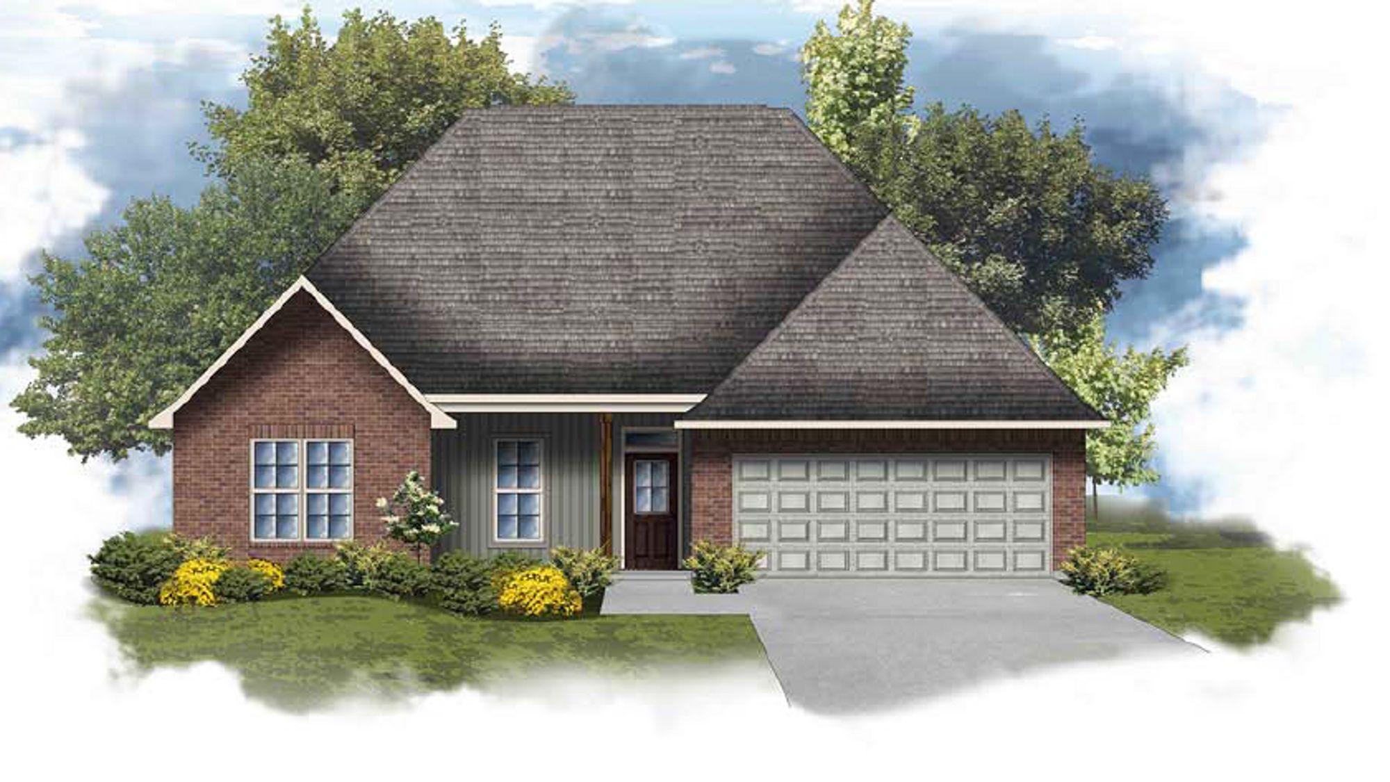 Carey IV G - Front Elevation - DSLD Homes