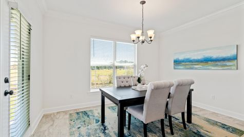 Porter's Cove Model Home Dining Room - DSLD Homes - Lake Charles, LA