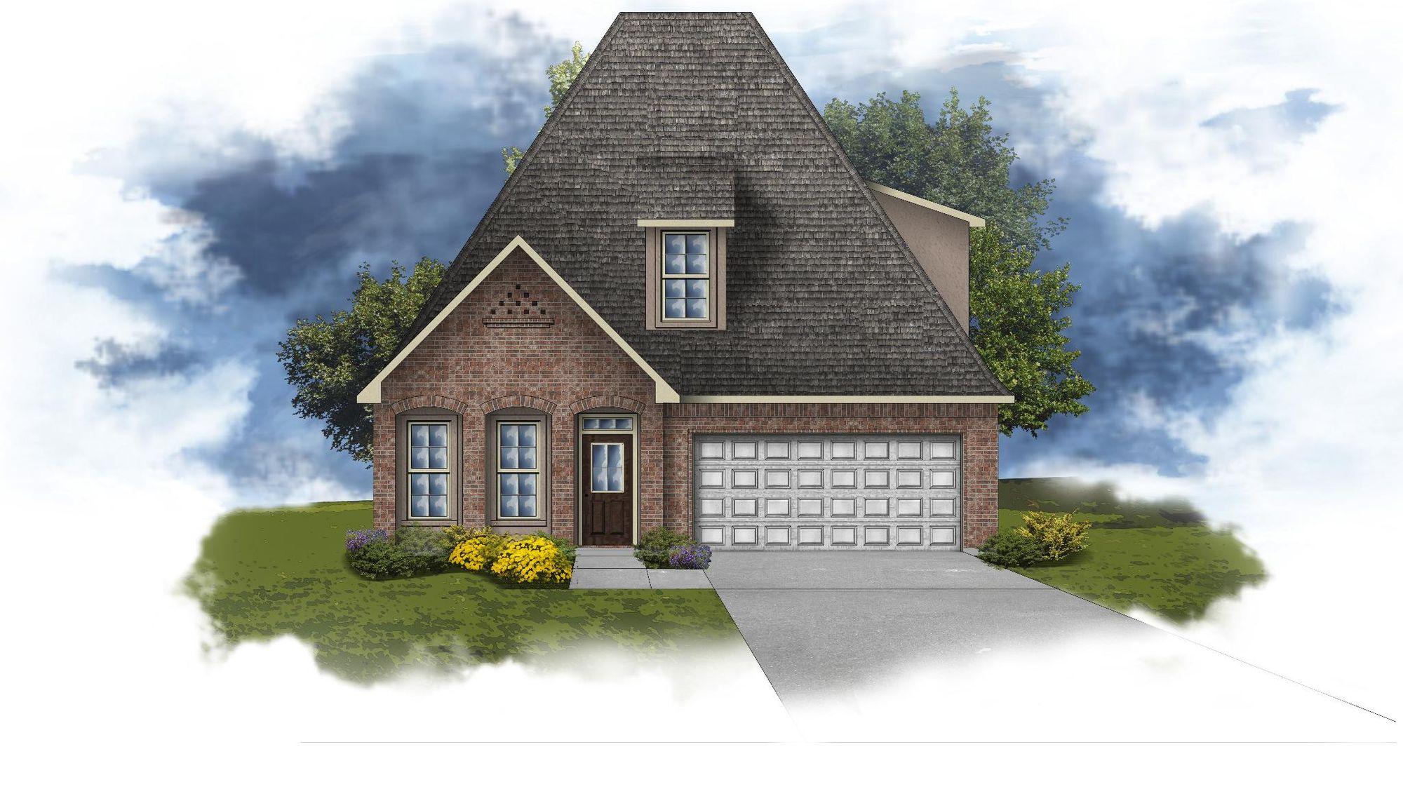 Collier III C - Open Floor Plan - DSLD Homes