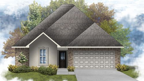 Bridgewater III A - Open Floor Plan - DSLD Homes