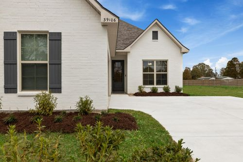 Jamestown Crossing - Domenico II A Plan - Prairieville, LA - DSLD Homes - Model Home Exterior