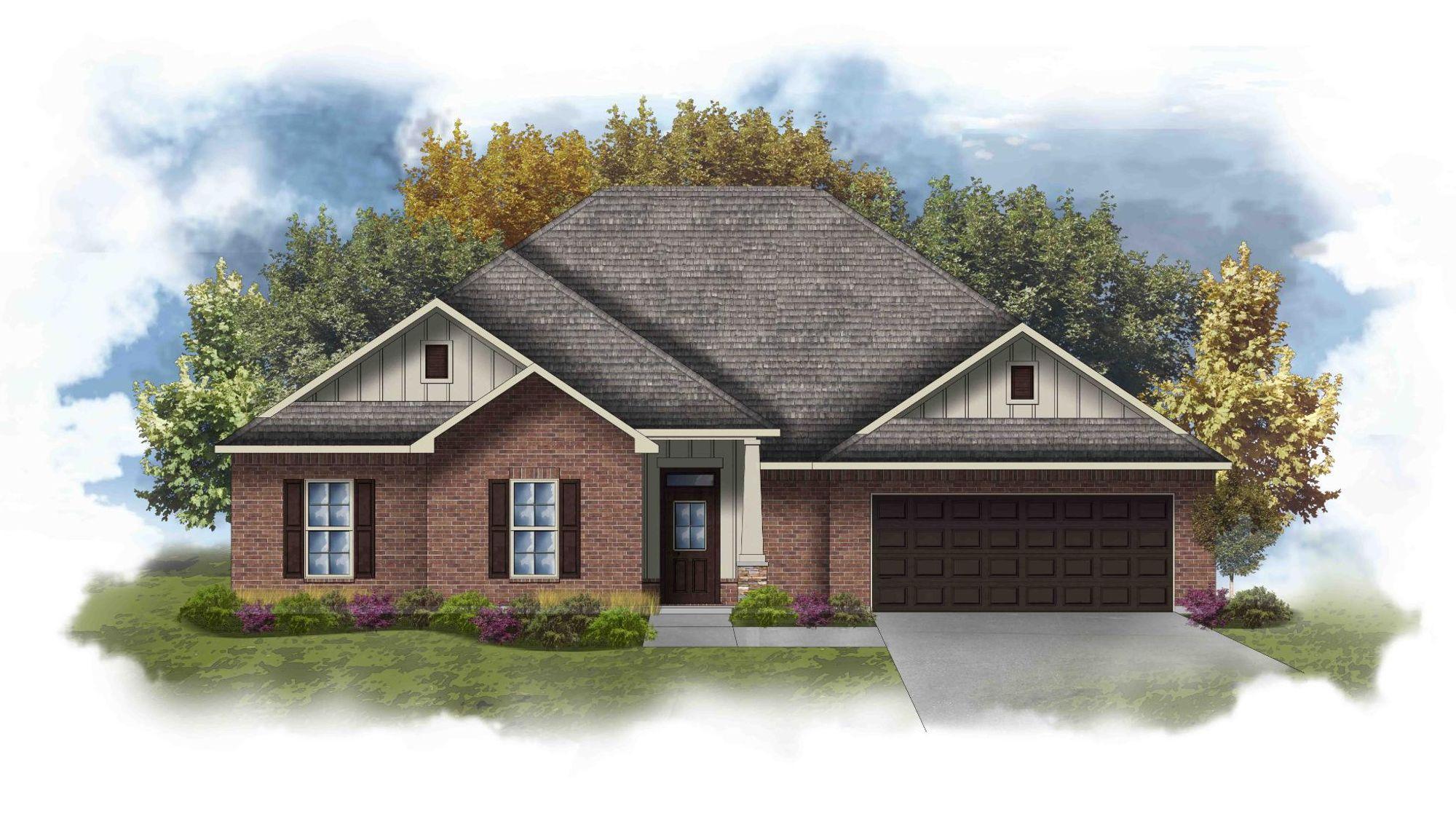 Coolidge III J - Open Floor Plan - DSLD Homes