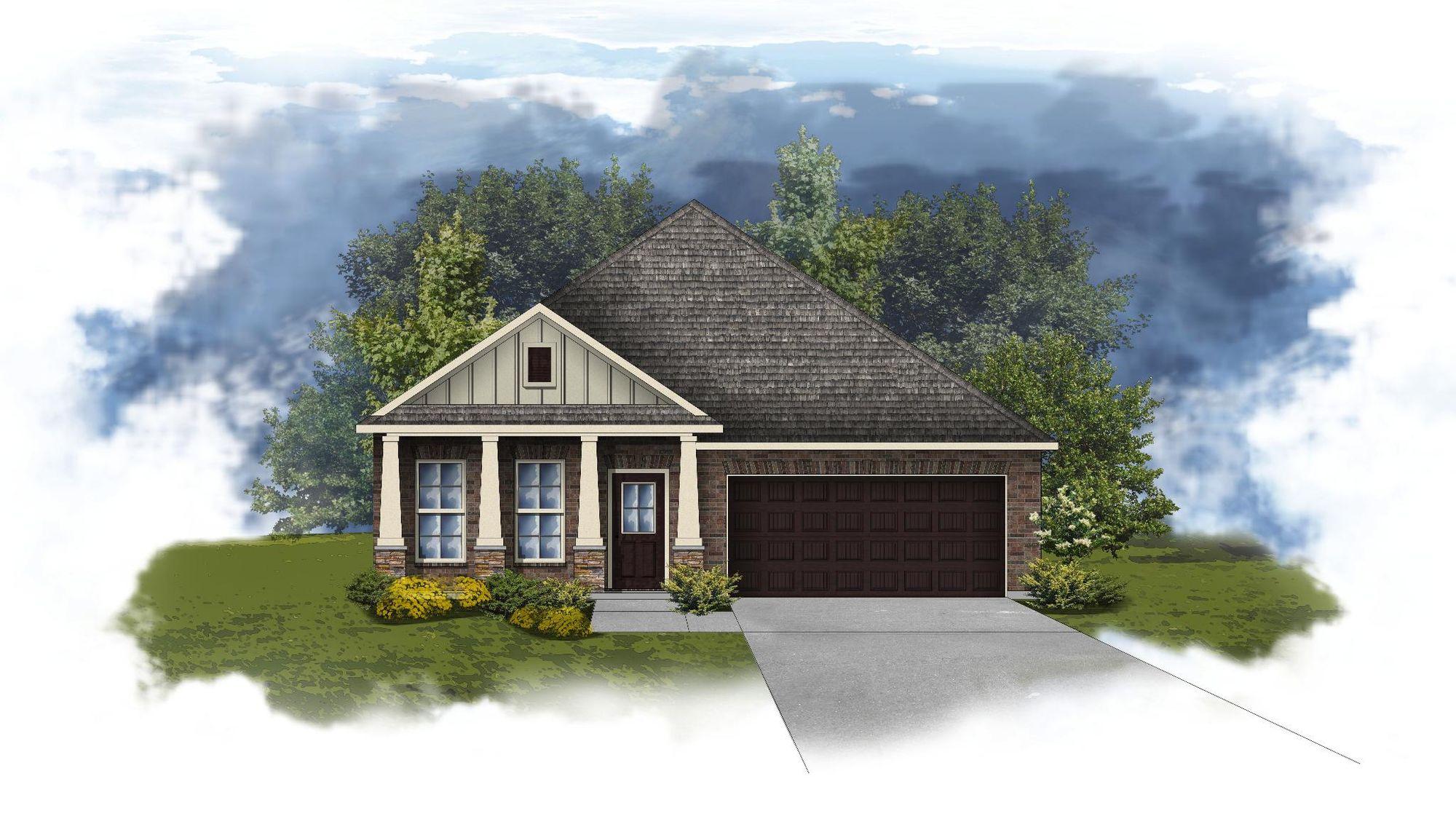Oakdale II A - Open Floor Plan - DSLD Homes