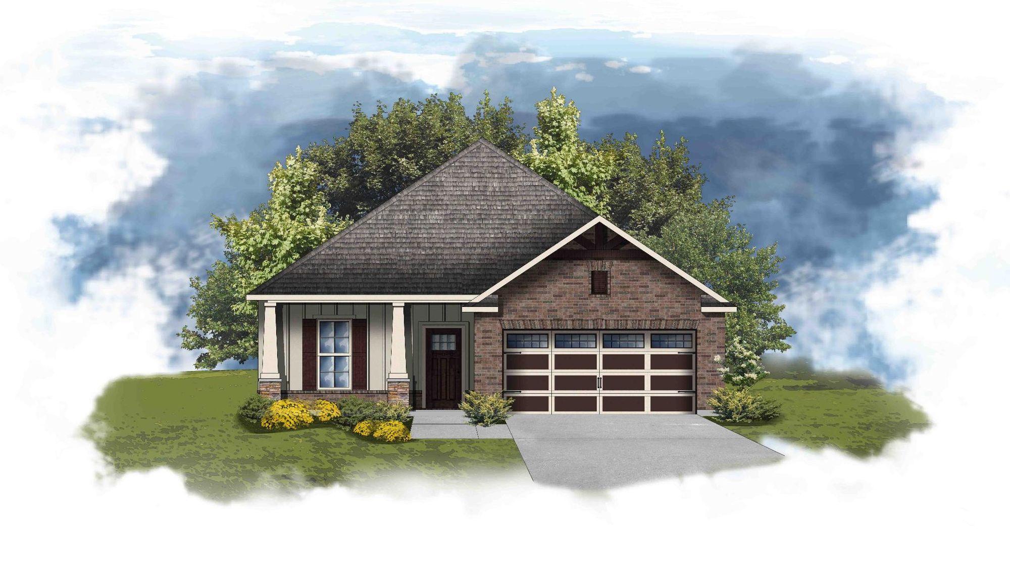 Newark II D - Open Floor Plan - DSLD Homes