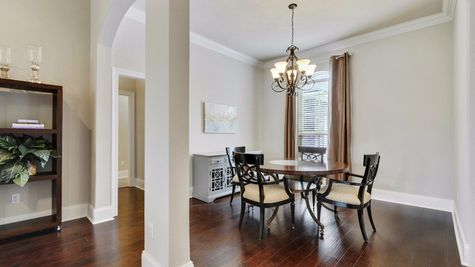Dining Room - Northern Oaks - DSLD Homes Pass Christian