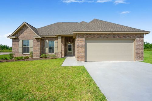 Cypresswood Village Model Home Exterior - DSLD Homes - Orange, TX