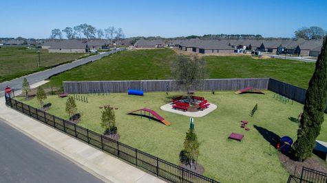 Paige Place Aerial View - DSLD Homes - Community Dog Park - Broussard, LA