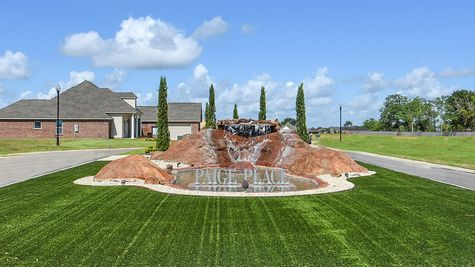 Community Sign - DSLD Homes - Paige Place in Broussard