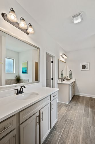 Talla Pointe - Model Home Master Bathroom - DSLD Homes - Hendricks III A - Ocean Springs, MS