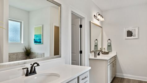Master Bathroom - Talla Pointe - DSLD Homes Ocean Springs