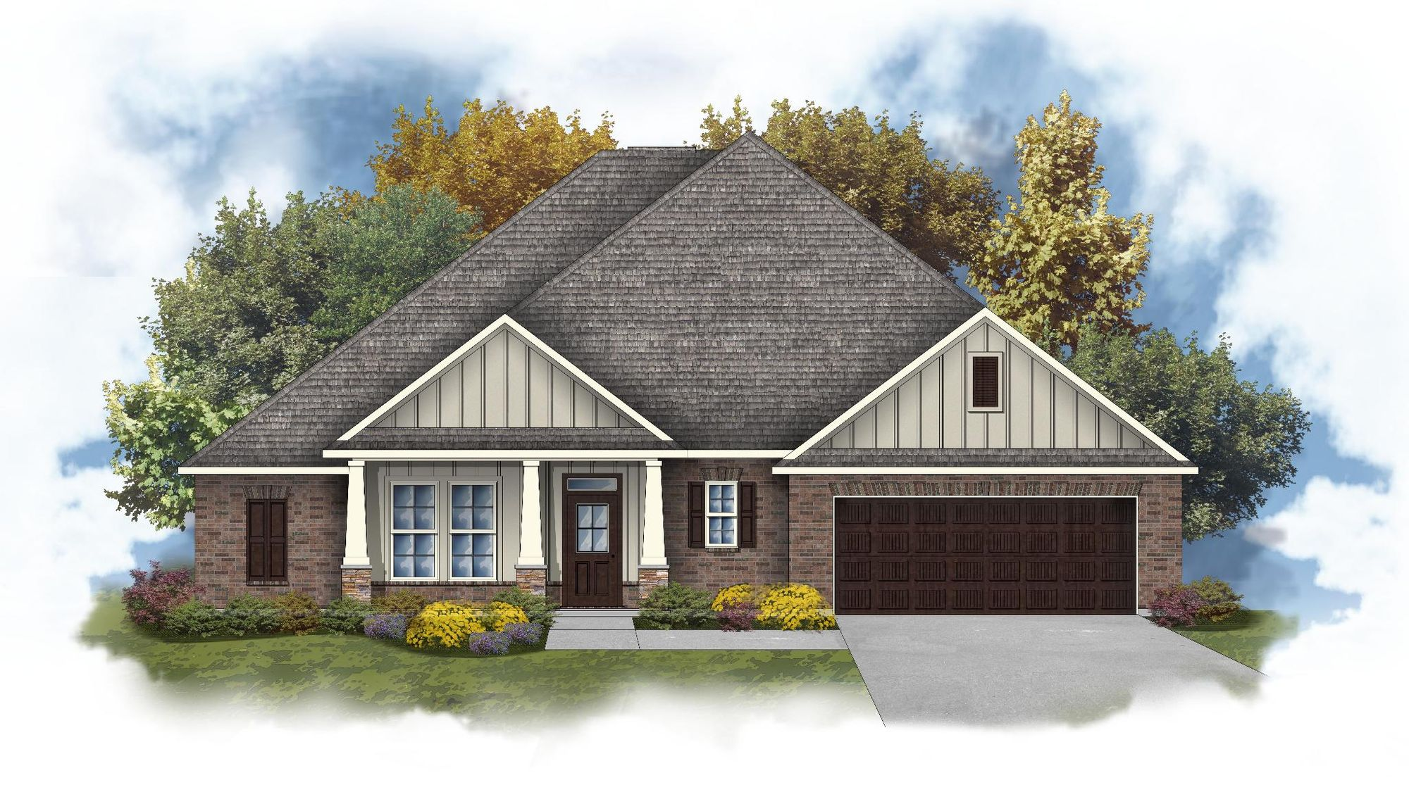 Tompkins III A - Open Floor Plan - DSLD Homes