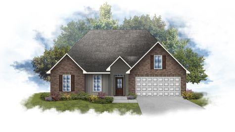 Rosman IV H - Front Elevation - DSLD Homes