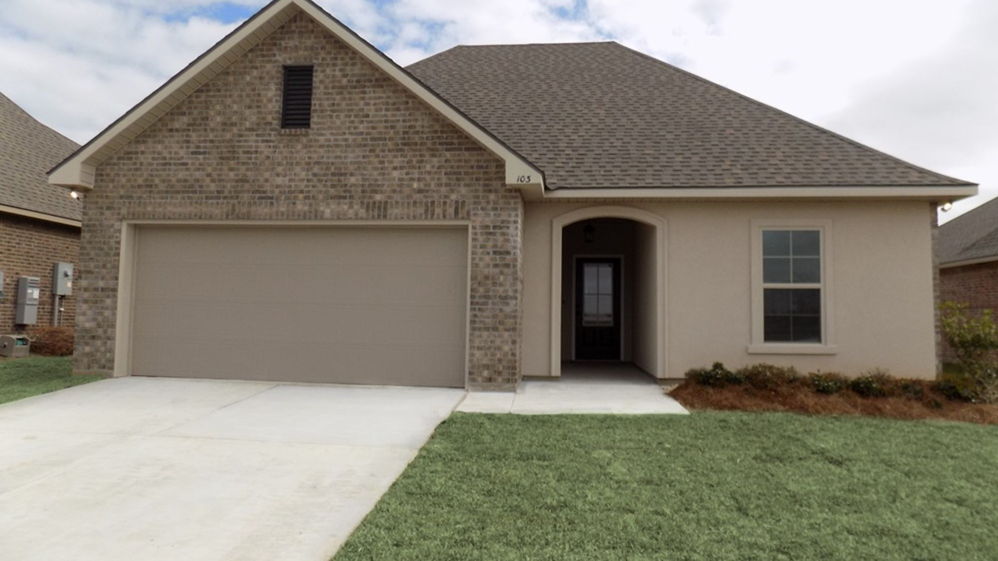 Front View - Paige Place Community - DSLD Homes Broussard