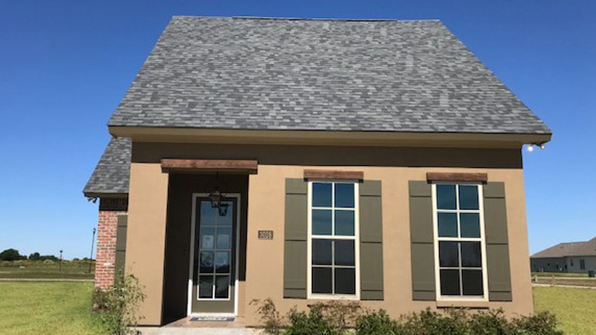 Front View - The Village at Morganfield Community - DSLD Homes Lake Charles