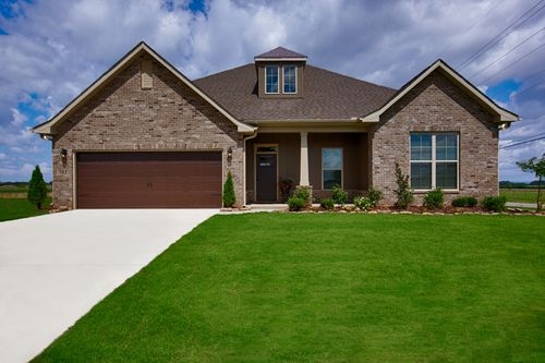 Meadow Crest - Model Home Exterior - Collinswood II G - Hazel Green, AL - DSLD Homes
