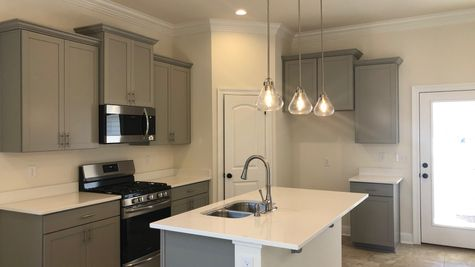 Ricci II B - DSLD Homes - Kitchen with painted cabinets