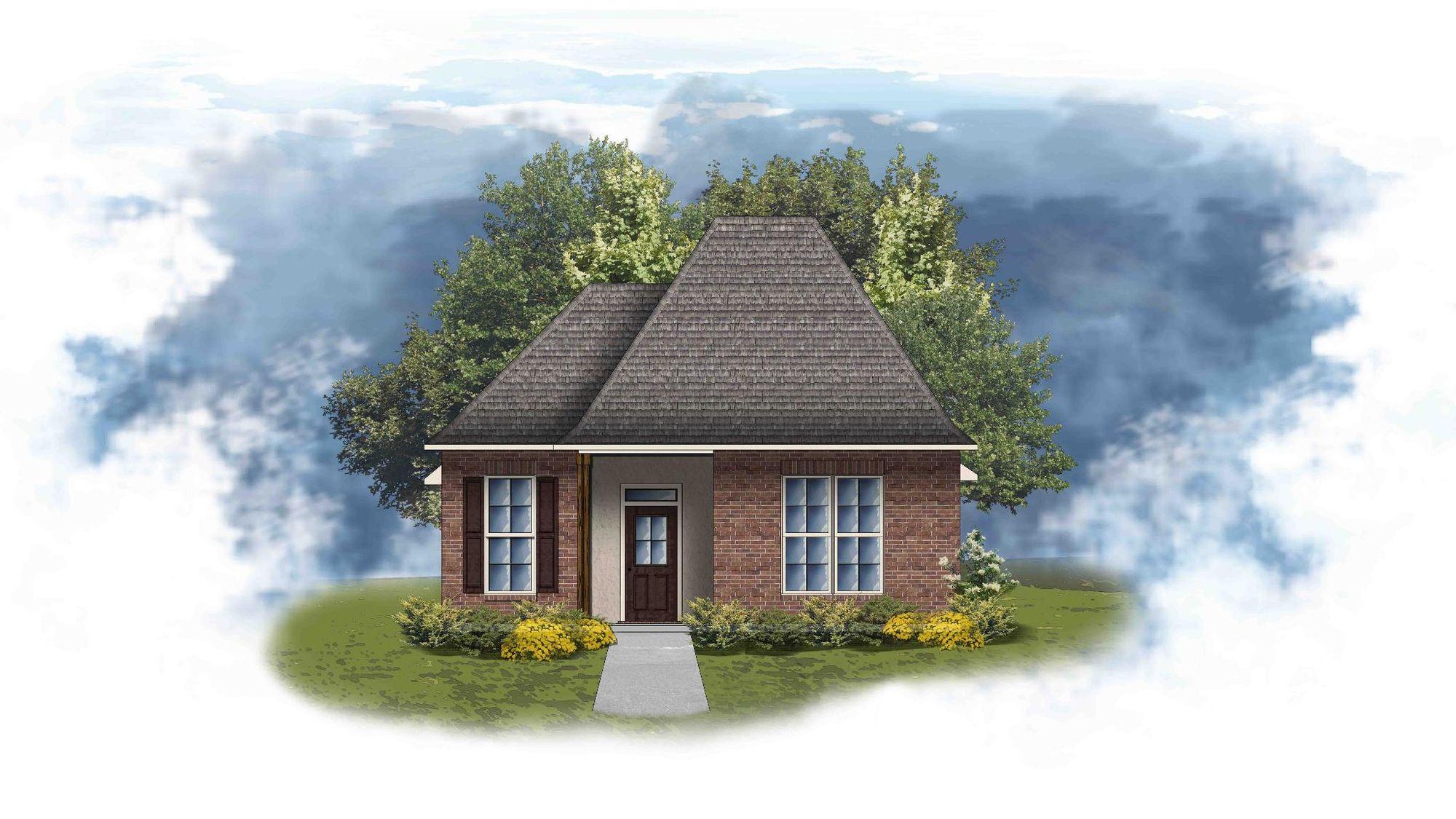 Greys II A - Open Floor Plan - DSLD Homes