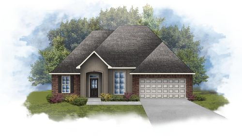 Rose IV C - Open Floor Plan - DSLD Homes