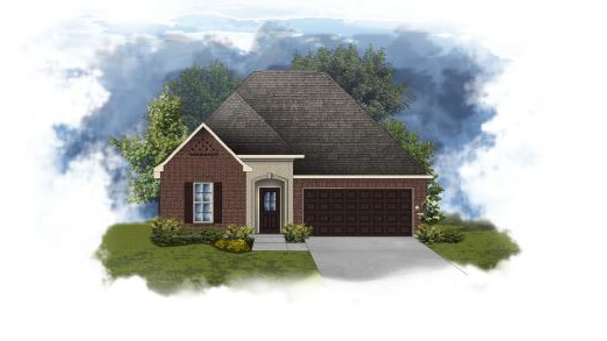 Trillium III A - Open Floor Plan - DSLD Homes