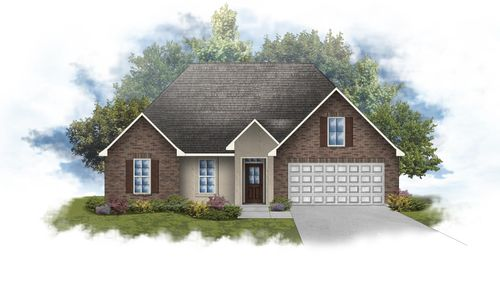 Romeno IV B - Front Elevation - DSLD Homes