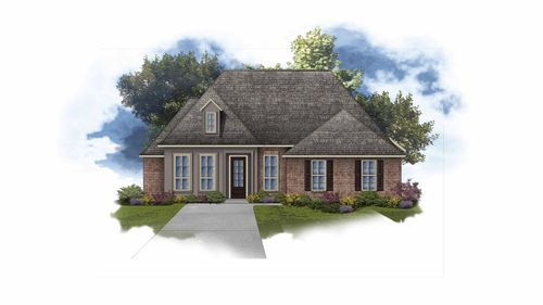 Delacroix II A - Open Floor Plan - DSLD Homes
