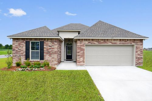 Summerview - Model Home Exterior - DSLD Homes - Longridge IV A - Duson, LA