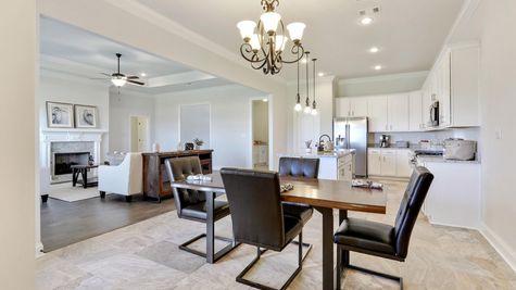 Kitchen in Model Home - DSLD Homes - Daphne - Old Field