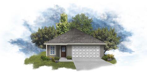 DSLD Homes - Kenan III G Open Floorplan Front Elevation Image