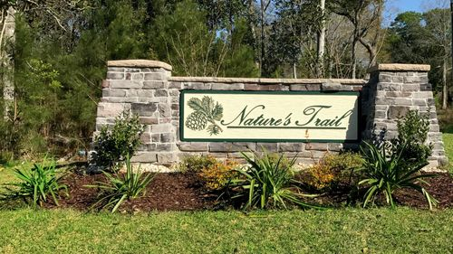 Front Entrance Sign - Nature's Trail - DSLD Homes Biloxi