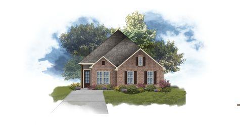 DSLD Homes - Alfani II A Open Floorplan Elevation Image