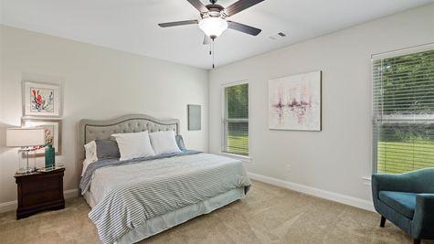 Grand Oaks Estates - DSLD Homes - Model Home Master Bedroom - Gulfport, Mississippi