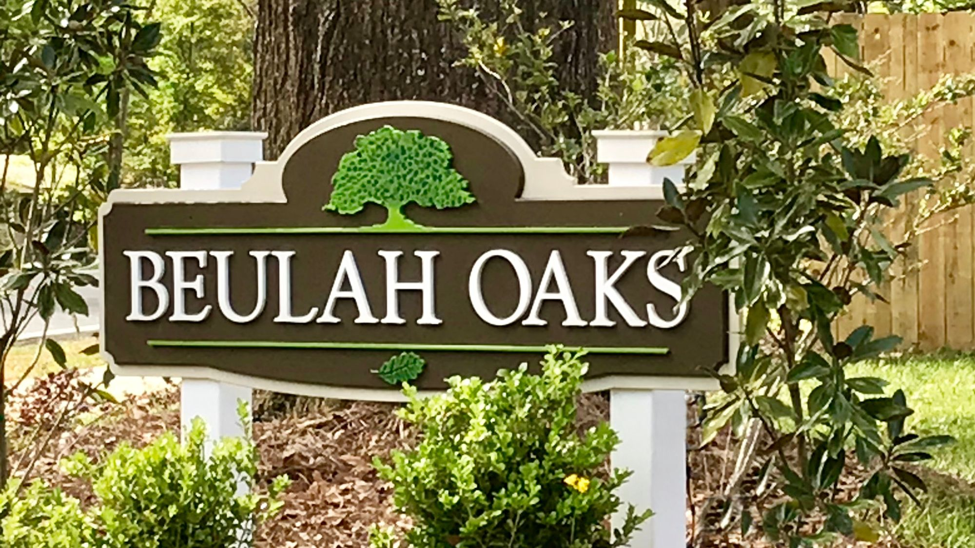 Beulah Oaks Front Entrance Sign- DSLD Homes- Pensacola