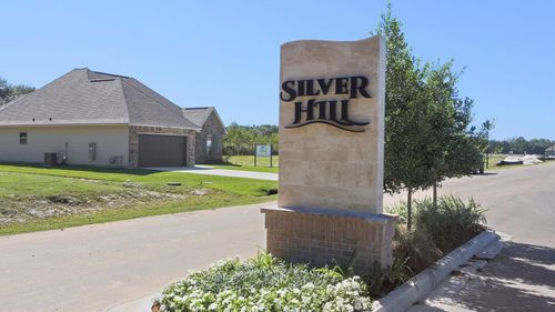 Silver Hill- Community Entrance Sign- Ponchatoula Louisiana- Hammond area- DSLD Homes