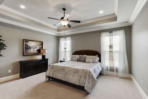 Pine Creek - Model Home Master Bedroom - DSLD Homes