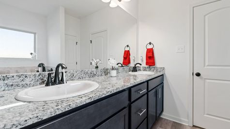 Moss Cove - Troy III G Floorplan - Master Bathroom - Thibodaux, LA