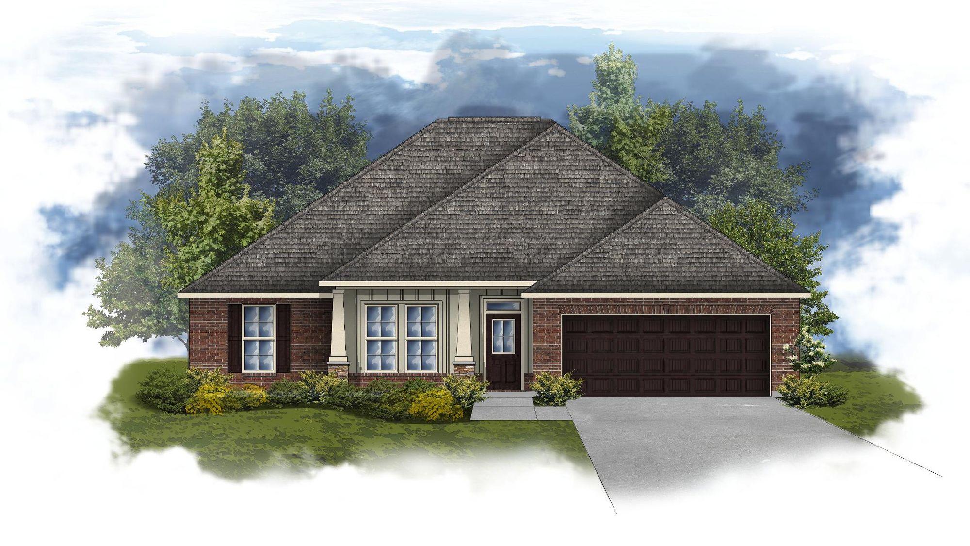 Ionia II A - Huntsville - Open Floor Plan - DSLD Homes