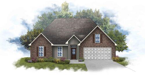 Lamar IV B Open Floorplan Elevation Image - DSLD Homes