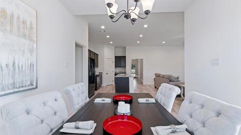DSLD Homes - Graham Heights Model Home Dining Room - Lafayette, LA
