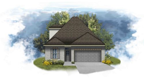 Colonne II B - PB - Open Floor Plan - DSLD Homes