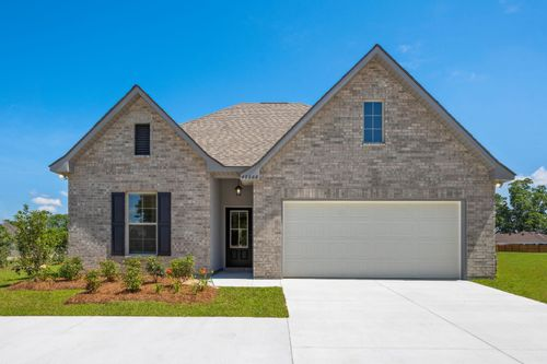 Brookstone - Prairieville, LA - DSLD Homes - Fallon II A Floor Plan