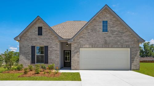 Brookstone Model Home Exterior - DSLD Homes - Prarieville, LA