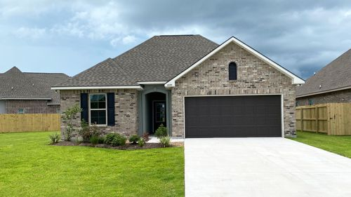 CORNEL III A Elevation- Front View – ORLEANS RUN  Community - DSLD Homes – Lake Charles,  LA