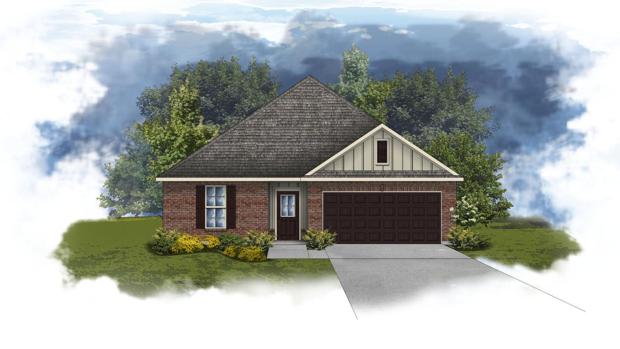 Crescent II A - Open Floor Plan - DSLD Homes