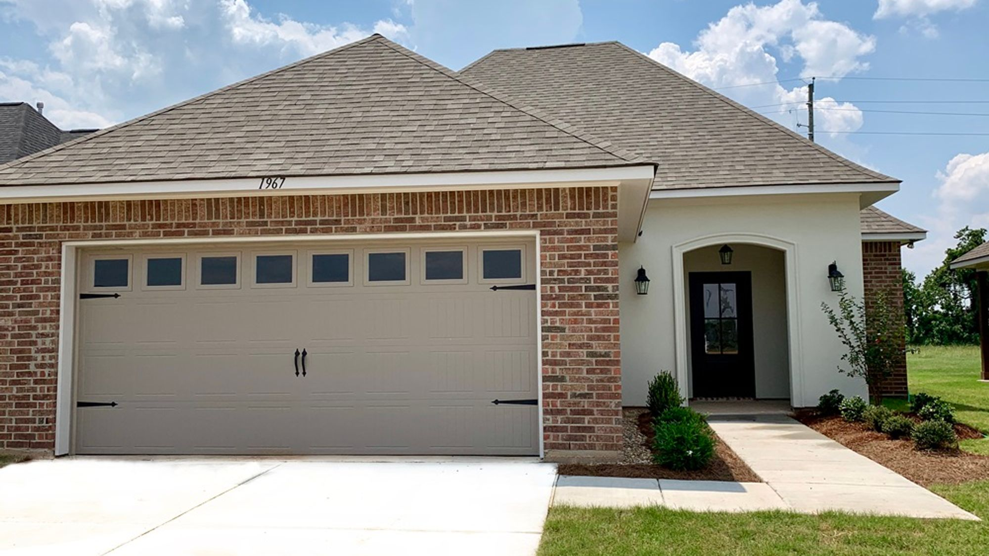 Begonia IV A Elevation- Front View - Beauclaire Community - DSLD Homes - Bossier City, LA