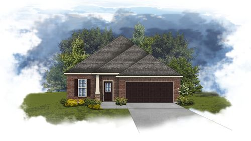 Durham II B - Huntsville - Open Floor Plan - DSLD Homes