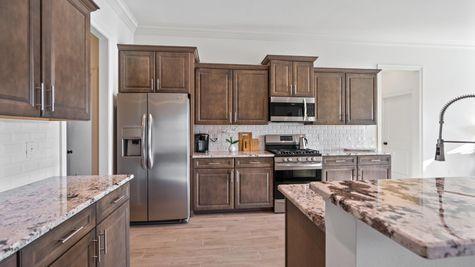 Cypress Park Model Home Kitchen - Belle Chasse - DSLD Homes